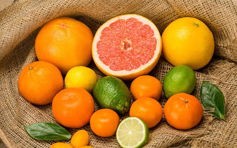 Trái cây cam chanh quýt