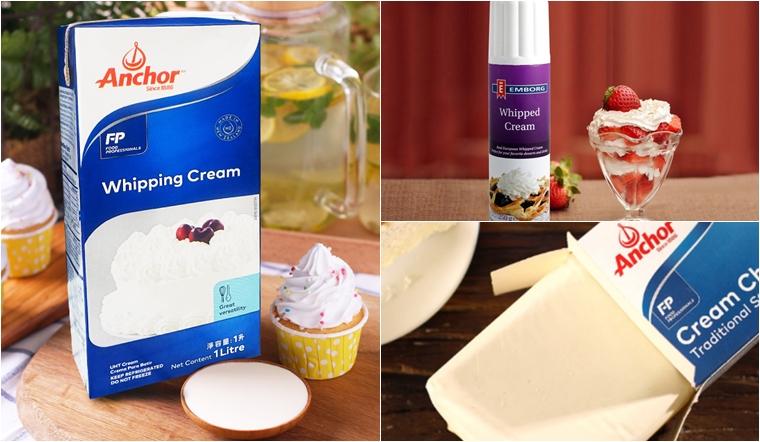Mua whipping cream, whipped cream, cream cheese ở đâu tại TP.HCM chất lượng?