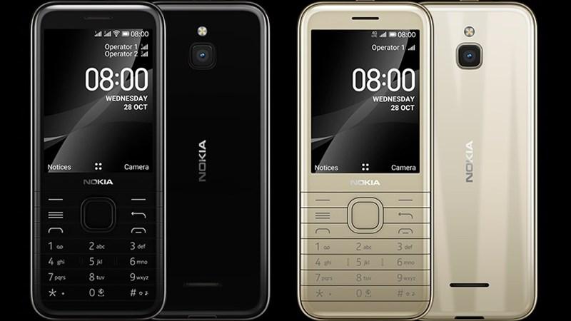 Nokia 8000 4G ra mắt: Màn hình 2.8 inch, chip Snapdragon 210 và có thể là chiếc điện thoại phổ thông đẹp nhất của HMD