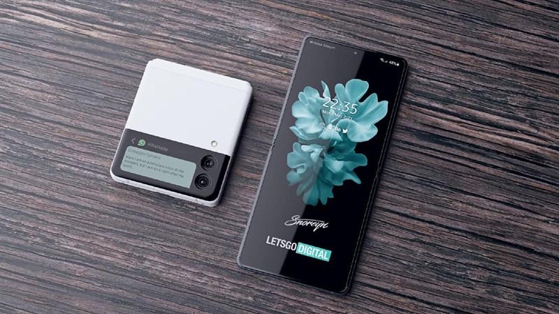 Concept Samsung Galaxy Z Flip 2