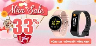 Đồng hồ thông minh, giảm giá linh đình đến 33%, từ 13 - 15/11 tại Điện máy XANH