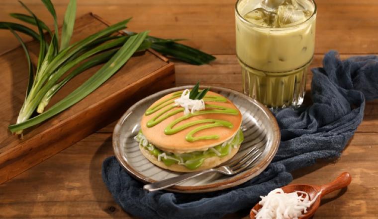 Cách làm pancake lá dứa nhanh gọn để ăn sáng