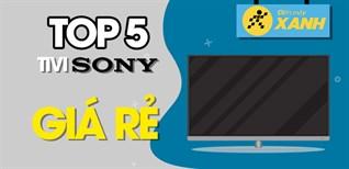 Top 5 tivi Sony giá rẻ nhất chỉ từ 6.1 triệu tại Điện máy XANH
