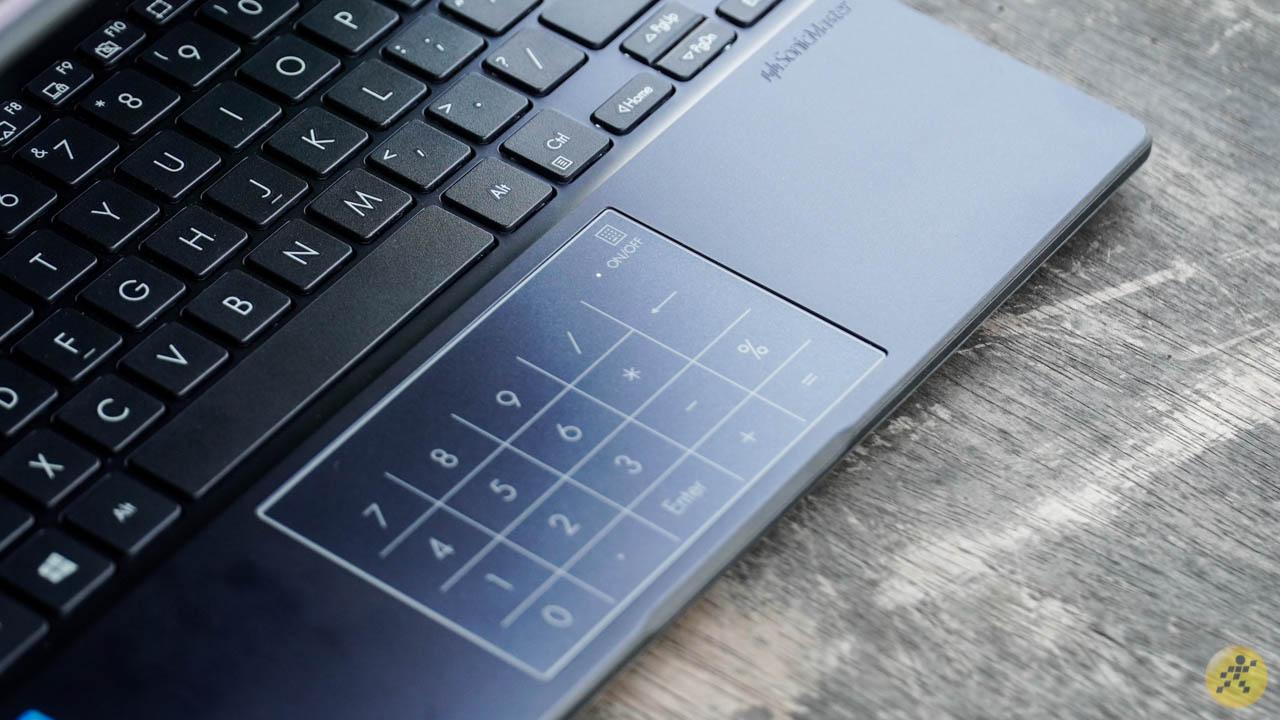ASUS VivoBook E210MA touchpad