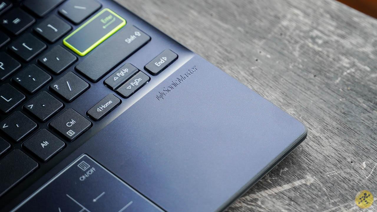 Audio technology on the ASUS VivoBook E210MA