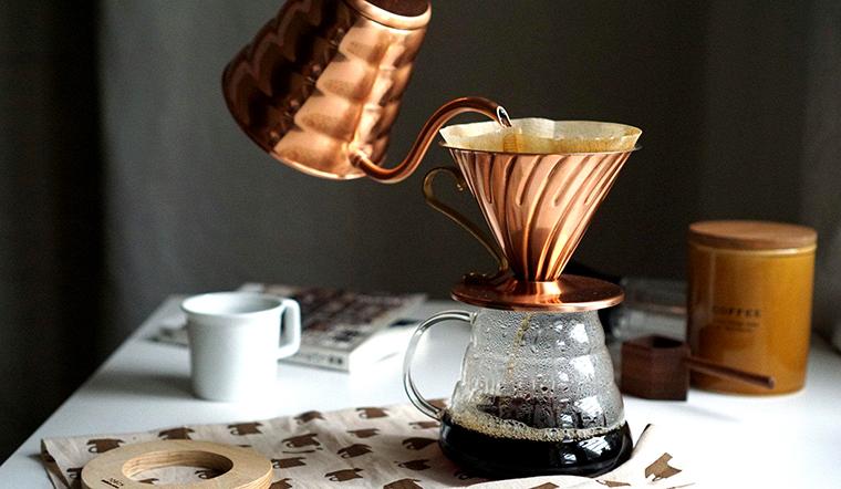 Cách pha cà phê bằng giấy lọc đơn giản tại nhà