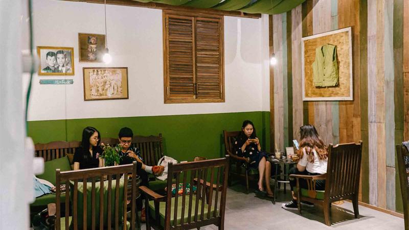 Cộng cà phê Điện Biên Phủ