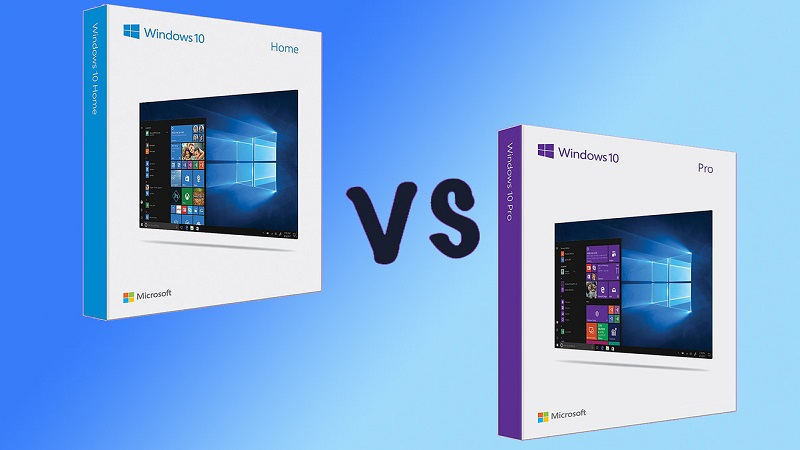 Win 10 Home hay Pro