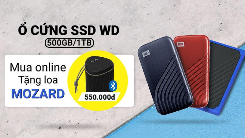 ưu đãi tặng kèm loa bluetooth khi mua SSD