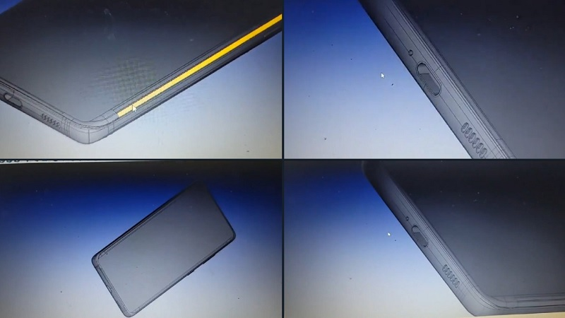 Hình ảnh render cho thấy S21 Ultra sẽ có cạnh dưới gọn nhất lịch sử