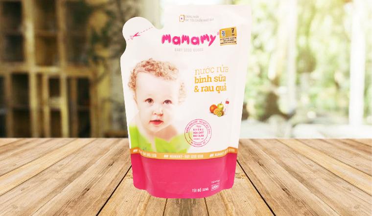 Những lý do bạn nên sử dụng nước rửa bình sữa Mamamy