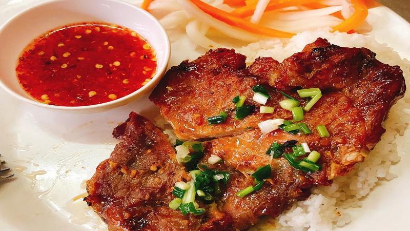 Món Cơm tấm Bụi Sài Gòn