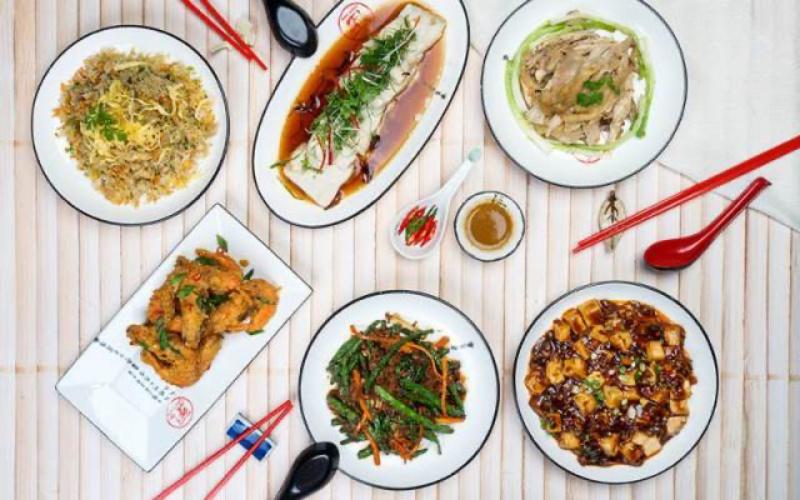 Món ăn quán San Fu Lou - Ẩm Thực Quảng Đông - Crescent Mall