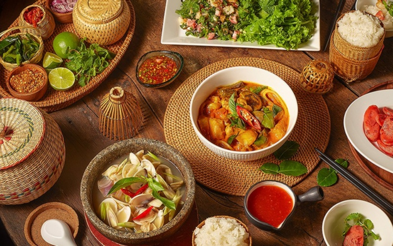 Món ăn quán Khao Lao
