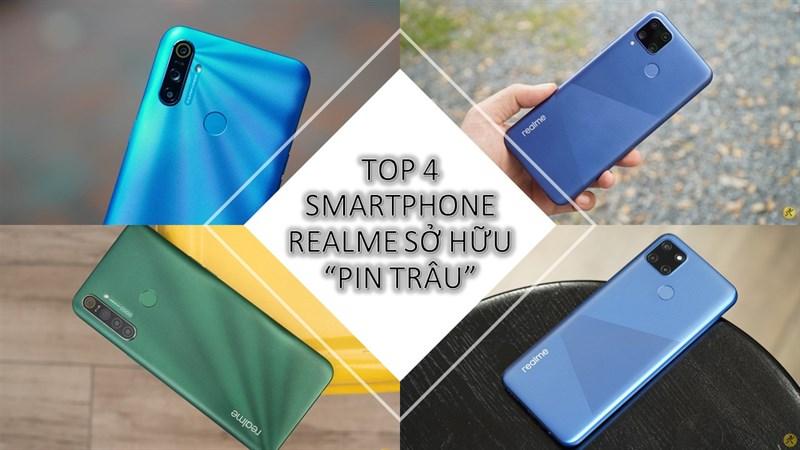 Top 4 smartphone đến từ nhà realme sở hữu viên pin trâu, cấu hình tốt, camera hiện đại, thiết kế sang trọng, giá chưa tới 5 triệu đồng