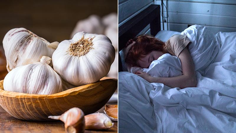 Lợi ích của việc đặt tỏi dưới gối khi ngủ