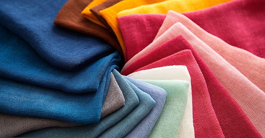 Một số loại vải nhạy cảm với nước