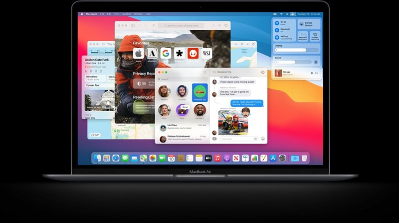 Chip Apple M1 tích hợp trên MacBook Air mới đạt điểm hiệu năng AnTuTu cao chưa từng thấy, hơn 1.1 triệu điểm