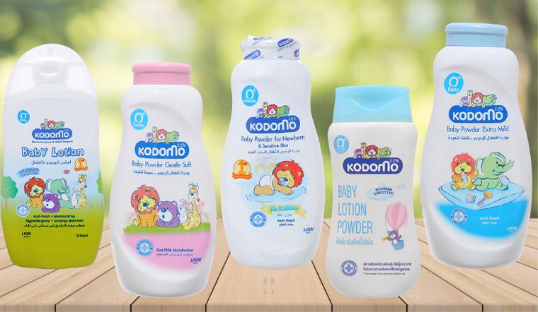Dưỡng ẩm, phấn thơm cho bé Kodomo có tốt không?