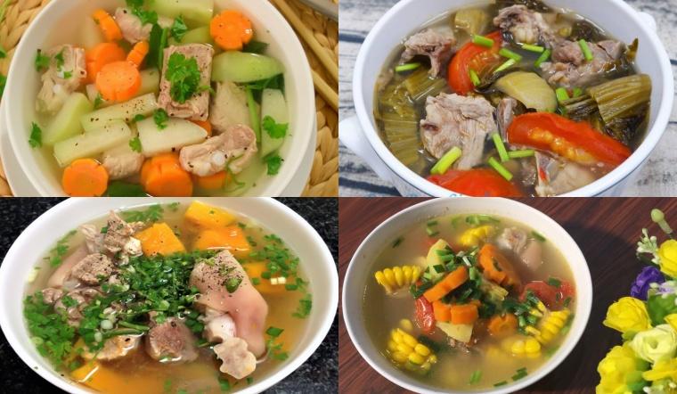 Cẩm nang các món canh từ xương heo ngon miệng, dễ nấu nhất