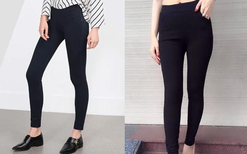 Sử dụng quần tregging thay vì quần legging