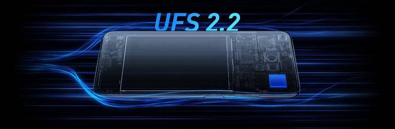 Redmi Note 9 5G sở hữu bộ nhớ UFS 2.2