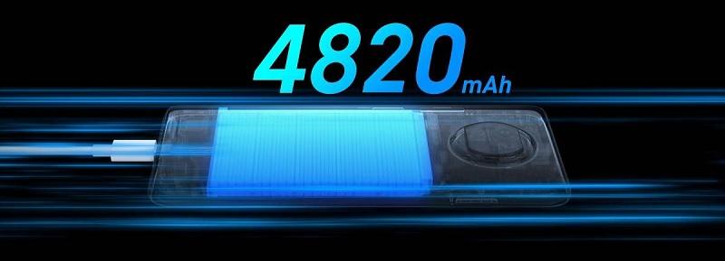Redmi Note 9 Pro 5G sở hữu viên pin 4.820 mAh