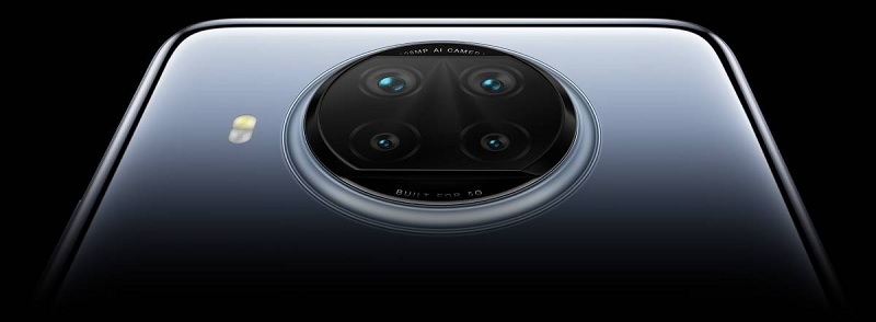 Cụm camera trên Redmi Note 9 Pro 5G