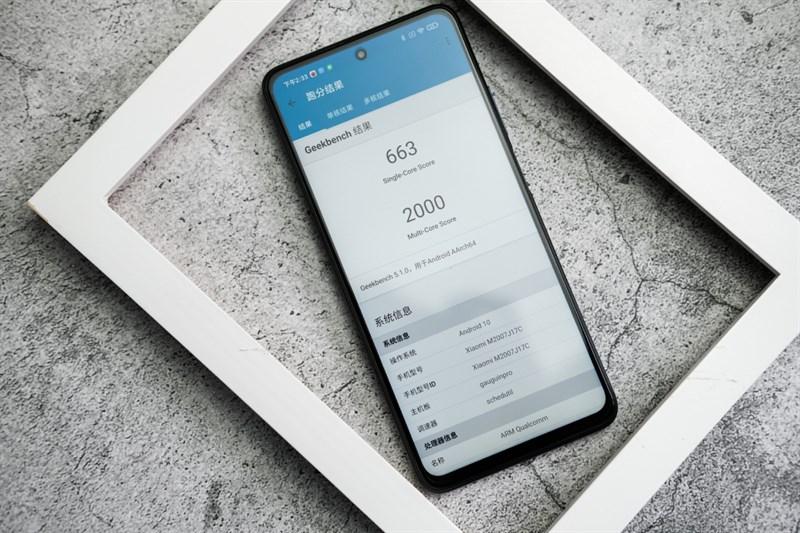 Redmi Note 9 5G còn được trang bị con chip Snapdragon 750G