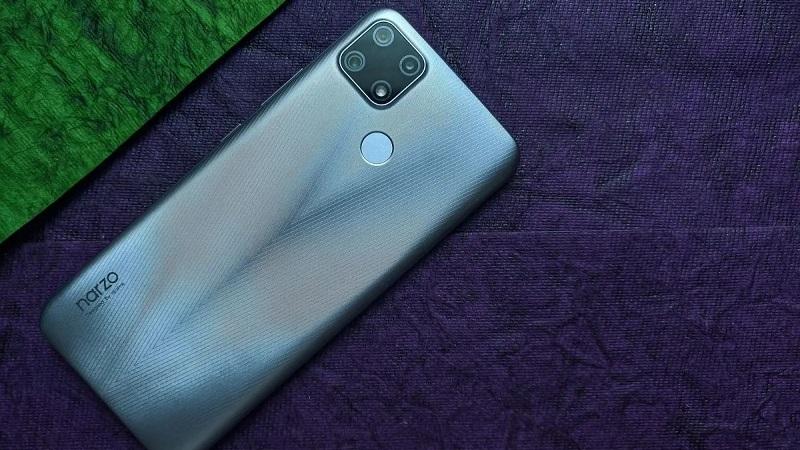 Realme sắp ra mắt một smartphone giá rẻ có pin 5.000 mAh, 3 camera nằm trong module hình vuông ở  mặt sau