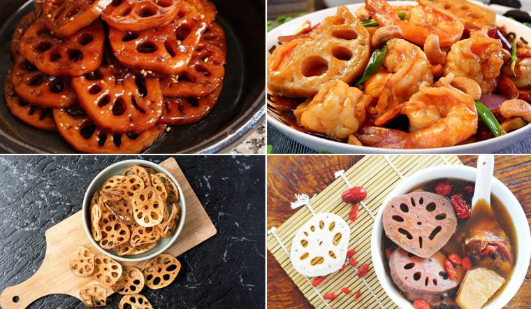 Từ A-Z các món ăn từ củ sen thơm ngon, bồi bổ cơ thể hiệu quả