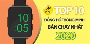 Top 10 đồng hồ - vòng tay thông minh bán chạy nhất năm 2020 tại Điện máy XANH