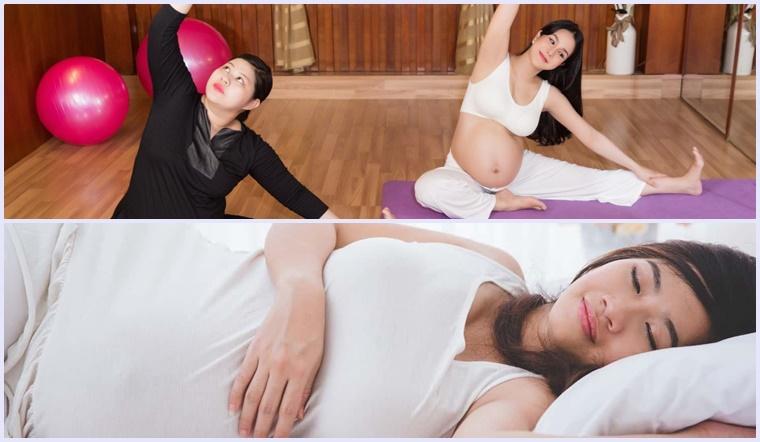 Đang mang thai thì nên vận động hay nghỉ ngơi thì mới tốt?