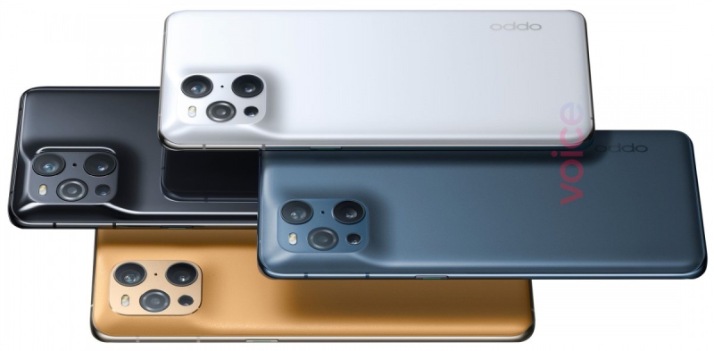 The back of the OPPO Find X3 Pro