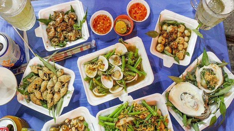 Quán Ốc Quỳnh - Phùng Văn Cung