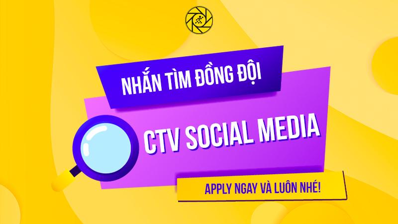 Team Social Media MWG đang tìm kiếm CTV thiết kế, bạn nào có đam mê thì ứng tuyển ngay