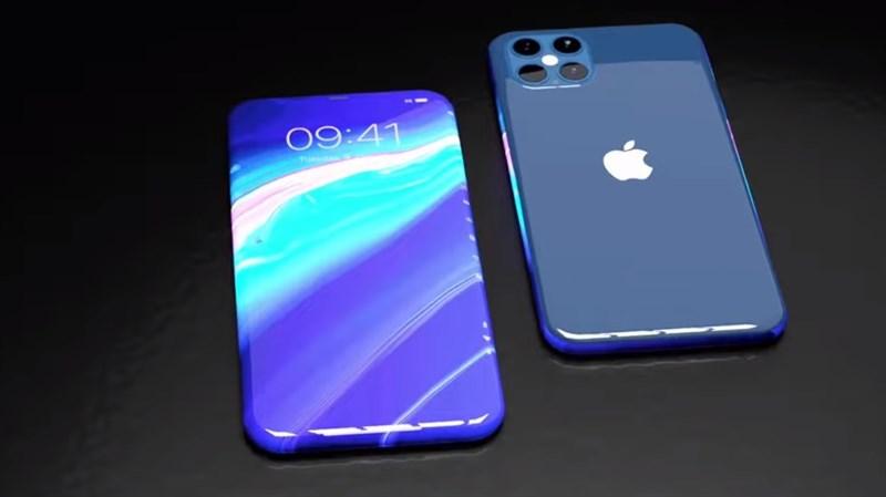 Mãn nhãn trước mẫu thiết kế iPhone 13 có màn hình cong phủ kín cả 4 cạnh, cổng sạc Lightning biến mất