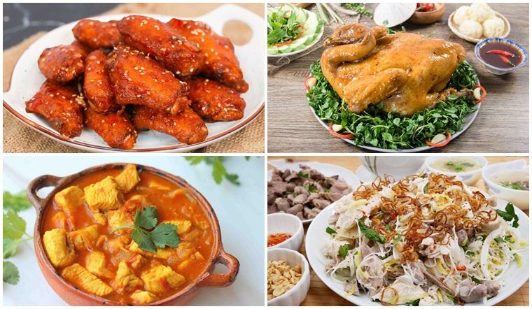 Tổng hợp các món ngon từ gà siêu ngon, dễ nấu tại nhà