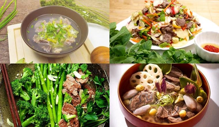 Mách bạn các món ngon từ thịt bò bắp dễ làm mà cực ngon