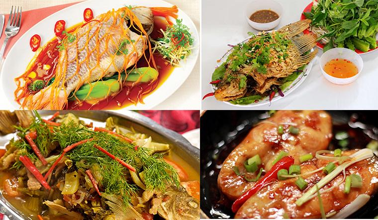 Tổng hợp các món ăn từ cá chép, bỏ túi để nấu cả tháng không bao giờ ngán