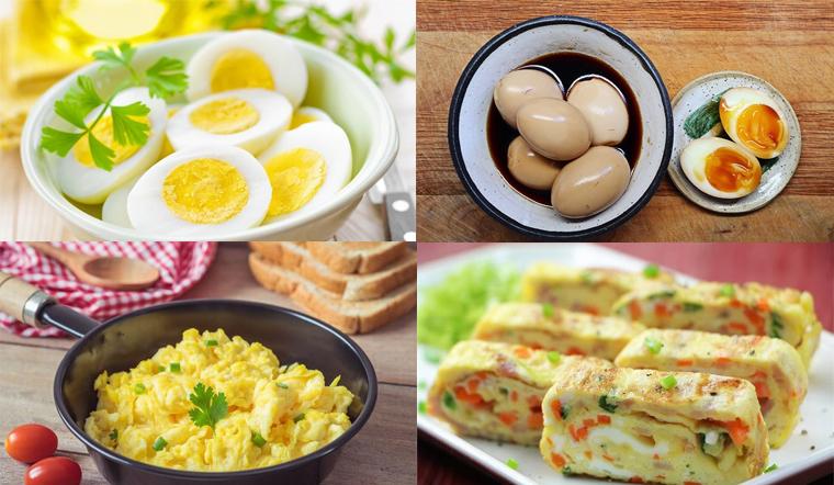 Tổng hợp 10 món ngon từ trứng gà dễ làm, ăn mãi chẳng ngán