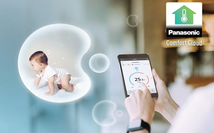 Panasonic Comfort cloud mang lại nhiều tiện ích
