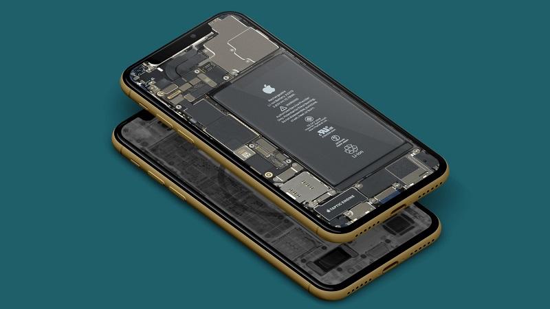 Bộ hình nền xuyên thấu dòng iPhone 12
