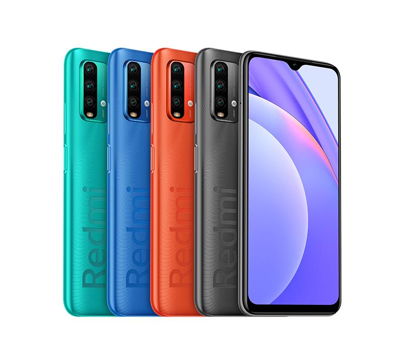 Bộ 4 màu sắc vô cùng trẻ trung trên Redmi Note 9 5G