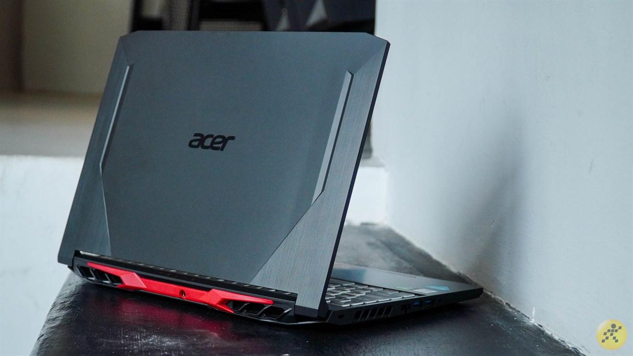 Thiết kế tổng thể của Acer Nitro 5