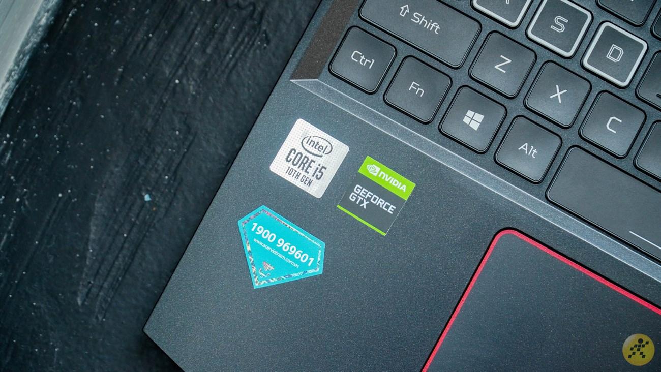 Cấu hình phần cứng của Acer Nitro 5
