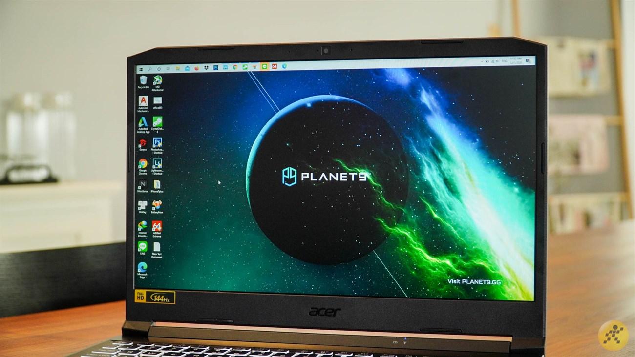 Acer Nitro 5 mang đến chất lượng hình ảnh đẹp mắt