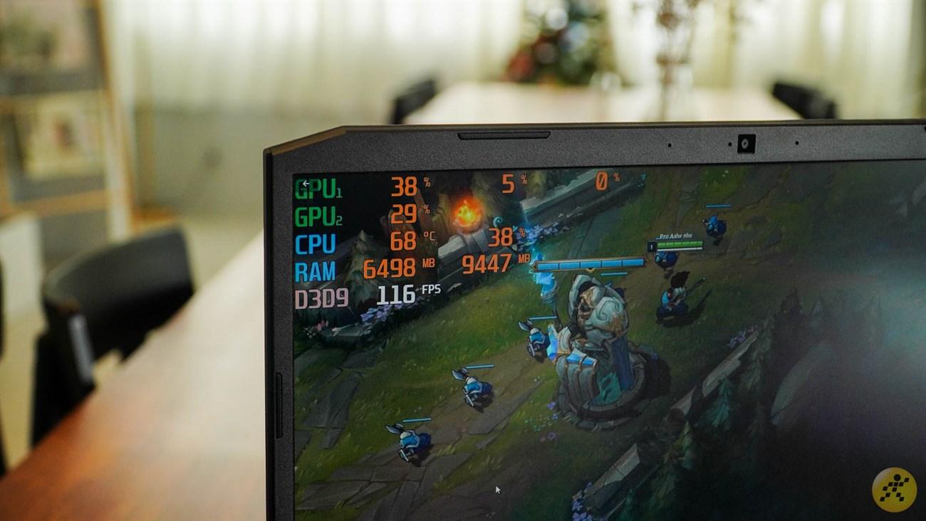 Acer Nitro 5 mang đến hiệu năng ấn tượng nhờ card đồ họa mạnh mẽ