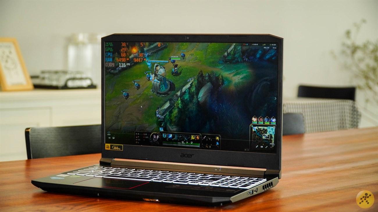 Acer Nitro 5 mang đến trải nghiệm chiến game mượt mà