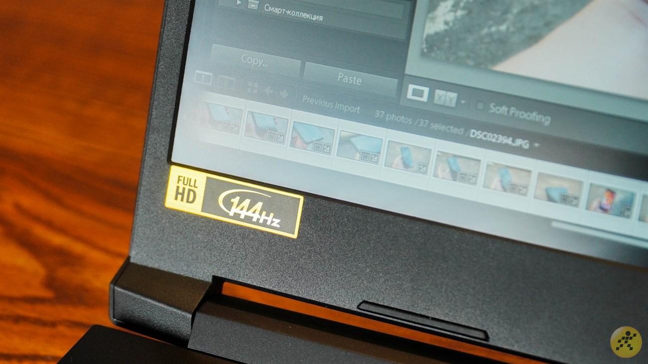 Acer Nitro 5 sở hữu màn hình 144 Hz đầy mượt mà